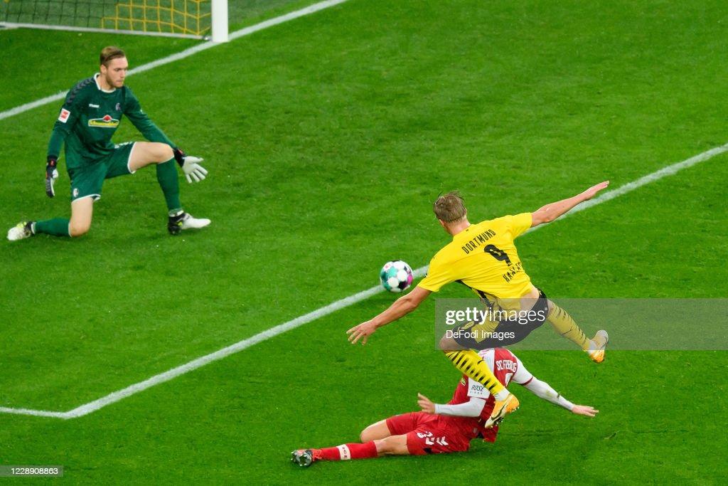 Borussia Dortmund v Sport-Club Freiburg -Bundesliga : News Photo