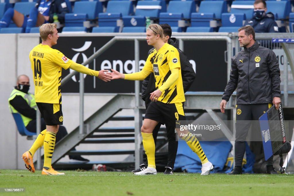 TSG Hoffenheim v Borussia Dortmund - Bundesliga : Photo d'actualité