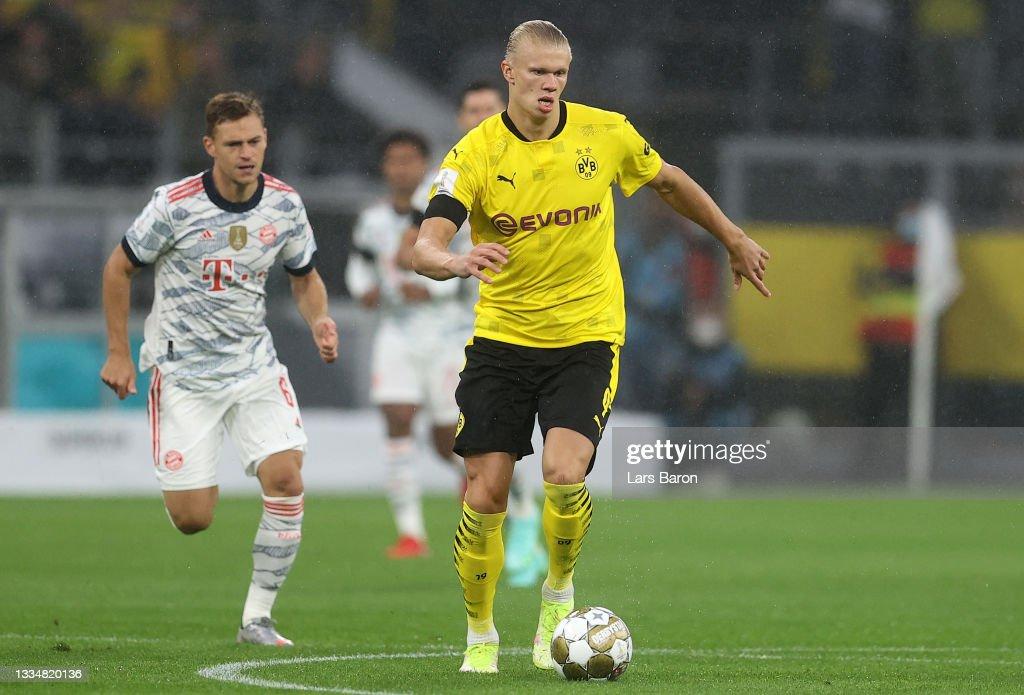 FC Bayern München v Borussia Dortmund - Supercup 2021 : News Photo