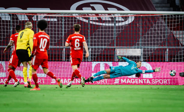 DEU: FC Bayern München v Borussia Dortmund - Bundesliga for DFL