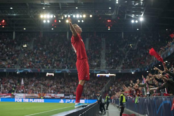 AUT: RB Salzburg v KRC Genk: Group E - UEFA Champions League