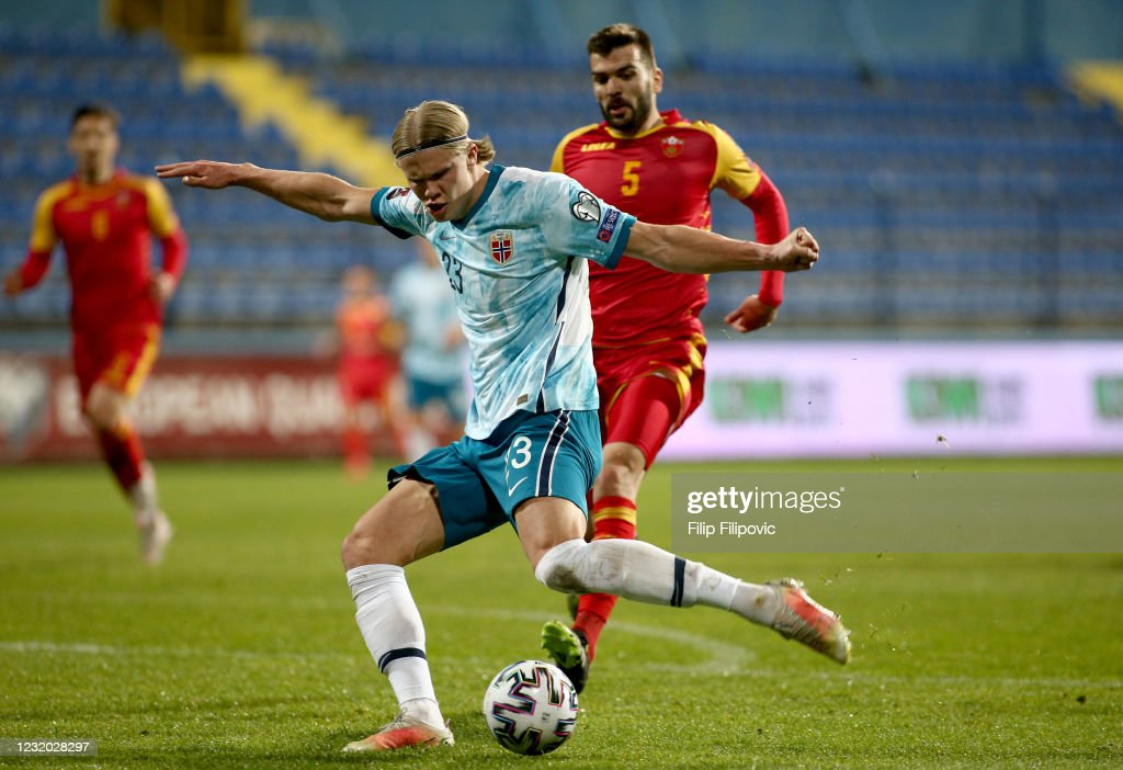 Montenegro v Norway - FIFA World Cup 2022 Qatar Qualifier : News Photo