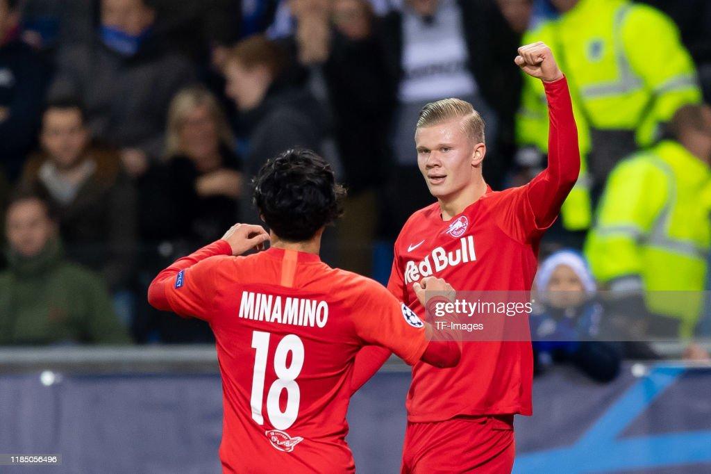 KRC Genk v RB Salzburg: Group E - UEFA Champions League : News Photo