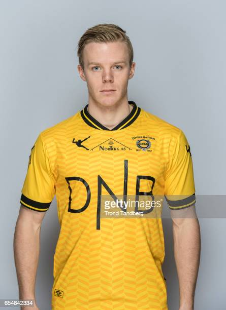 Erling Knudzon of Team Lillestrom Sportsklubb LSK during Photocall on March 17 2017 in Lillestrom Norway