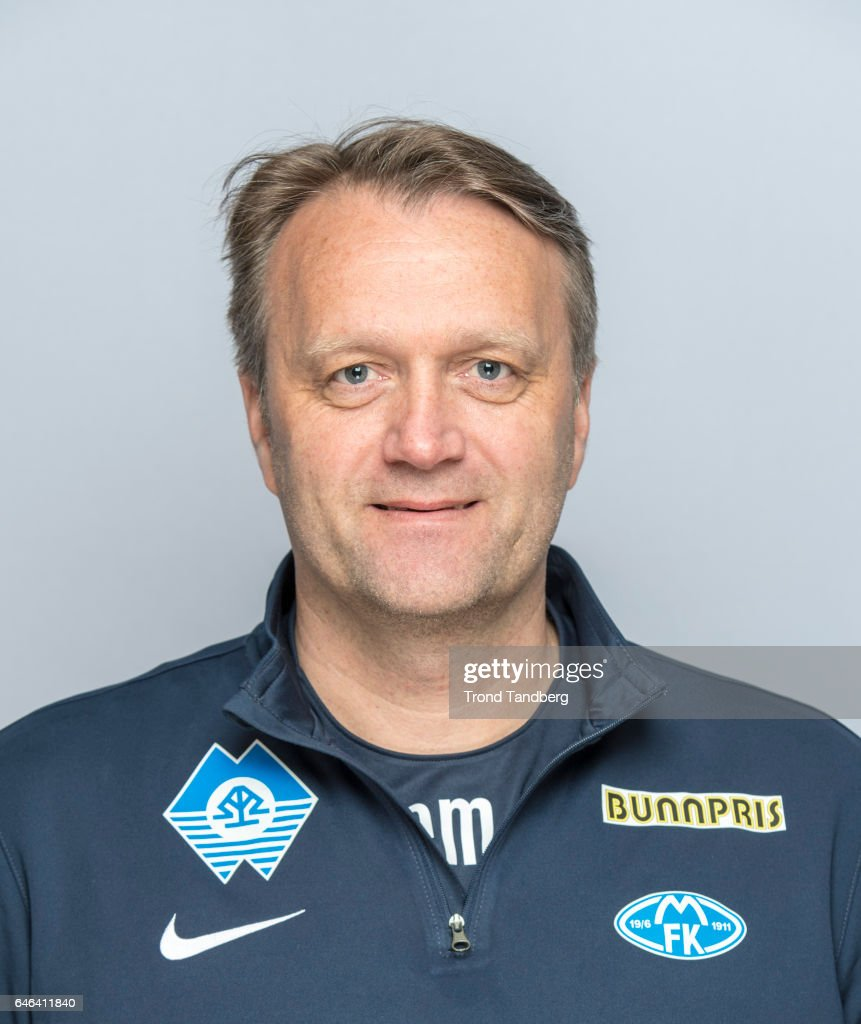 Erling Moe of Team Molde FK Photocall on February 21, 2017 in Molde, Norway.