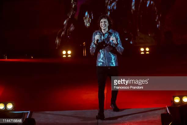 Ermal Meta Performs At Forum on April 20 2019 in Milan Italy