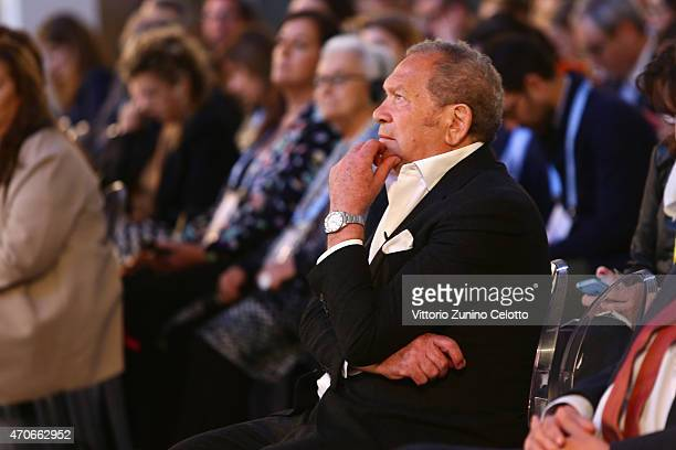 Ermanno Scervino attends the Conde' Nast International Luxury Conference at Palazzo Vecchio on April 22 2015 in Florence Italy
