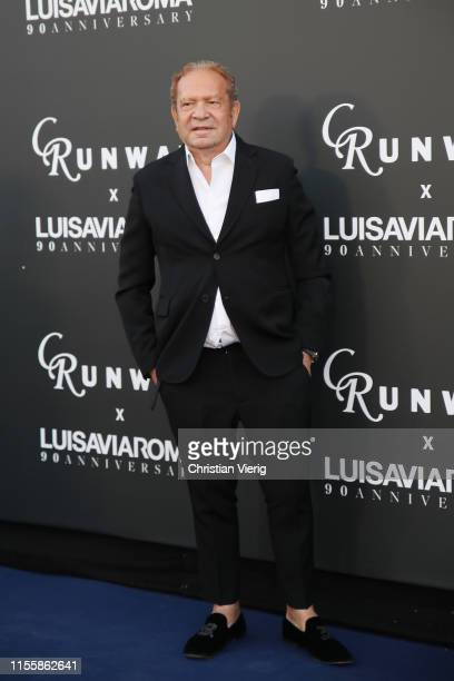 Ermanno Scervino attends the CR Runway x LuisaViaRoma Event during Pitti Immagine Uomo 96 on June 13 2019 in Florence Italy