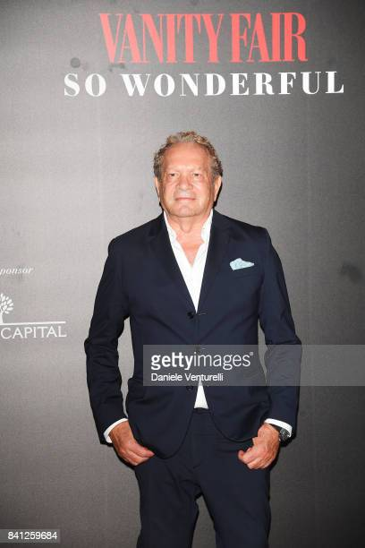 Ermanno Scervino attends Vanity Fair 'So Wonderful' Party during the 74th Venice Film Festival at Cipriani Hotel on August 31 2017 in Venice Italy