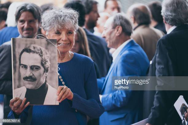 Erminia Ferrari attend the nominees presentation of Nastri D'Argento at Maxxi Museum on June 6 2017 in Rome Italy