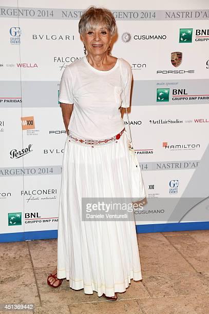 Erminia Ferrari attends Nastri D'Argento Awards 2014 Press Conference at Hotel Atlantis Bay on June 28 2014 in Taormina Italy