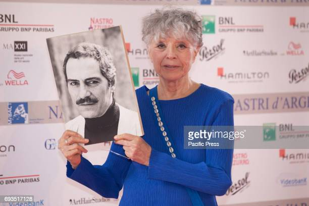 Erminia Ferrari during the photocall of the announcement of nominations to Nastri D'Argento 2017.