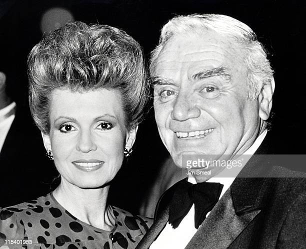 Ernest Borgnine and Tova Borgnine during 1st Annual Stuntman's Awards Show at KABC TV Studios in Los Angeles California United States