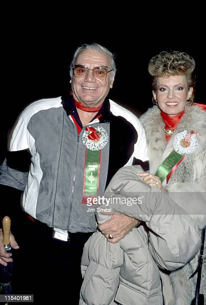 Ernest Borgnine and Tova Borgnine during 59th Annual Hollywood Christmas Parade at Hollywood in Hollywood California United States