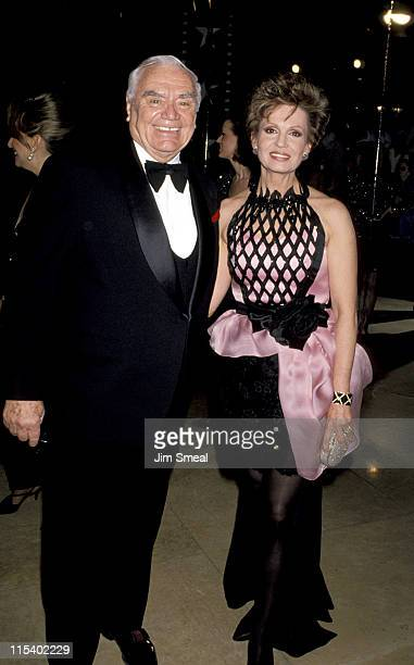 Ernest Borgnine and Tova Borgnine during The 21st Annual American Film Institute Life Achievement Awards Salute to Liz Taylor at Beverly Hilton Hotel...