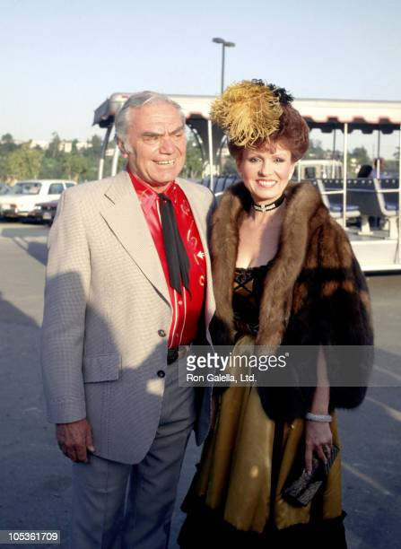 Ernest Borgnine and Tova Borgnine during Universal Amphitheatre Share Party May 7 1983 at Universal Amphitheatre in Los Angeles California United...