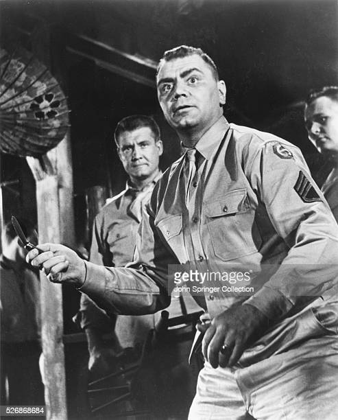 Ernest Borgnine as Sergeant James R Judson in the 1953 film From Here to Eternity