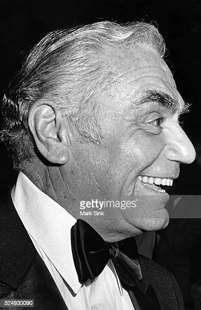Ernest Borgnine Carousel Ball Denver Co 1983 Nikon F3 Trix F/16 Scanned from silver print 2006 Prints signed numbered and dated on verso