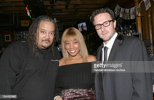 Ernest Dickerson Reagan GomezPreston and David Arquette