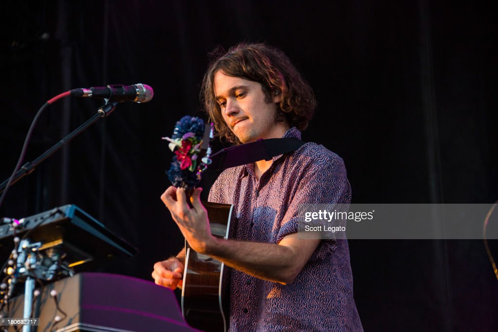 Ernest Greene of Washed Out performs during the St Jerome's Laneway Festival at Meadow Brook Music Festival on September 14, 2013 in Rochester, Michigan.