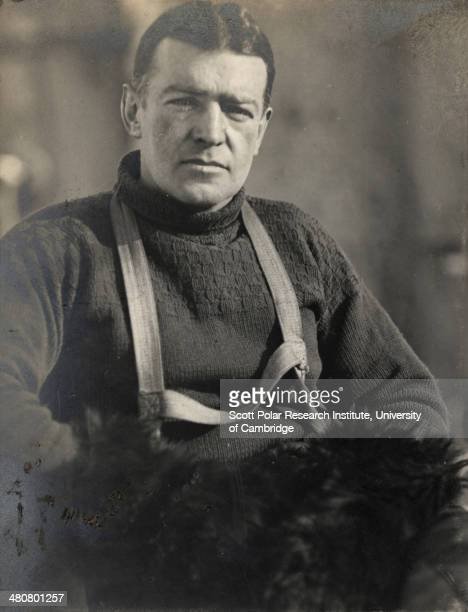 Ernest H Shackleton during the Imperial TransAntarctic Expedition 191417 led by Ernest Shackleton