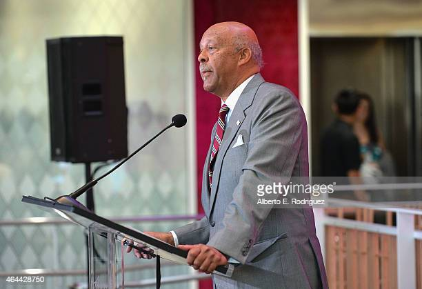 Ernest J Wilson III Dean USC Annenberg School For Communication Journalism attends the naming of the Julie Chen/Leslie Moonves and CBS Media Center...