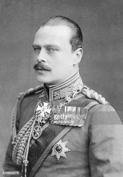 Ernest Louis Charles Albert William Grand Duke of Hesse and by Rhine 18681937 portrait 1904