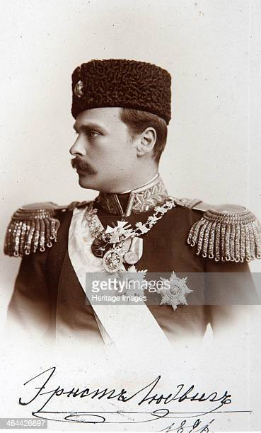 Ernest Louis I Grand Duke of Hesse and by Rhine 1896 Ernest Louis of Hesse was the fourth child of Grand Duke Louis IV of Hesse and Princess Alice of...
