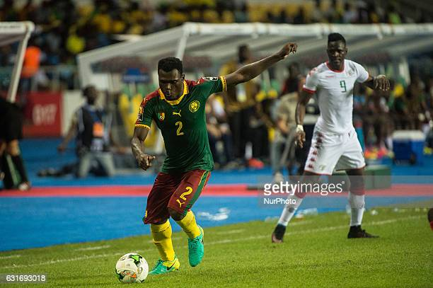 Ernest Olivier Bienvenu Mabouka Massoussi during second half at African Cup of Nations 2017 between Burkina Faso and Cameroon at Stade de lAmitié...