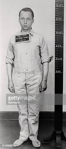 Ernest Peter Burger one of the eight Axis saboteurs captured by the FBI according to an announcement by FBI head J Edgar Hoover Burger was a member...