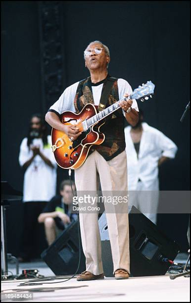 Ernest Ranglin performing at Prospect Park Brooklyn USA on 19 July 1998