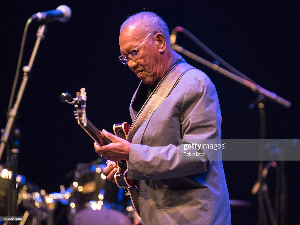 Ernest Ranglin Performs At Barbican Centre In London : News Photo