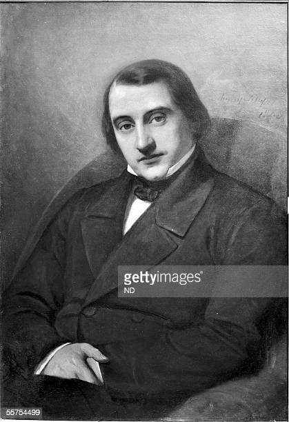 Ernest Renan , French writer and historian. ND-12643.