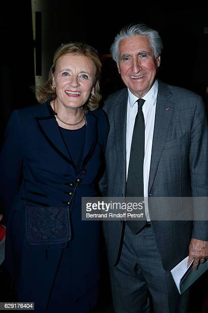 ErnestAntoine Seilliere and his wife Antoinette Barbey attend the 'Reves d'Enfant' Charity Gala with the representation of 'Le Lac des Cygnes' at...