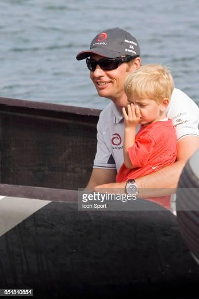 Ernesto BERTARELLI et son fils Falco - ALINGHI - - Coupe Louis Vuitton - Act 11 Course en Flotte - Valence -