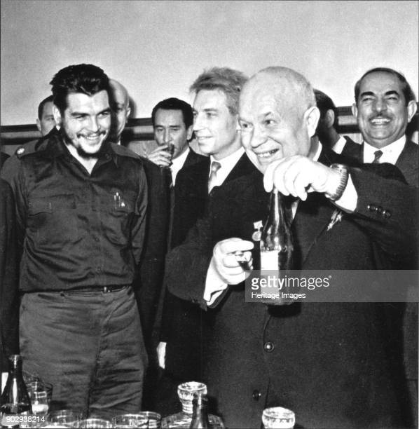 Ernesto Che Guevara and Nikita Khrushchev in Moscow Private Collection