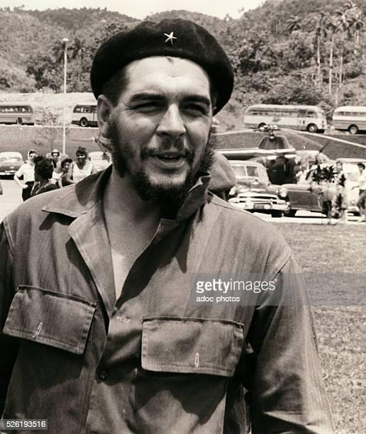 Ernesto Che Guevara Cuban revolutionary of Argentine origin born in Rosario In Soroa in the Pinar del Rio Province In 1961