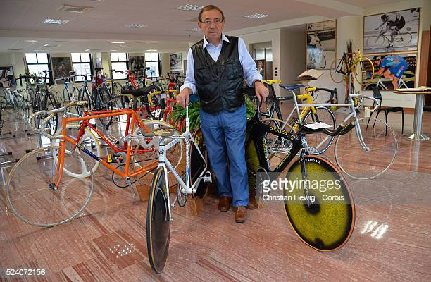 Ernesto Colnagos at Cambiago Italy Photo by Christian Liewig/Corbiscom