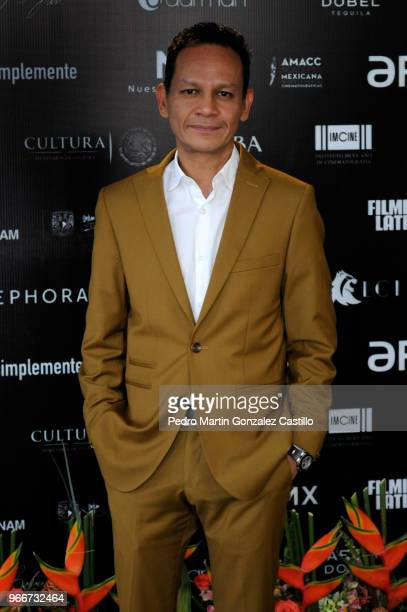 Ernesto Contreras President of the The Mexican Academy of Film Arts and Sciences poses during a photocall ahead of 60th Ariel Awards nominees...