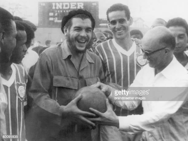 Ernesto Rafael Guevara de la Serna also known as Che Guevara Photograph Around 1960 [Ernesto Rafael Guevara de la Serna genannt Che Guevara beim...
