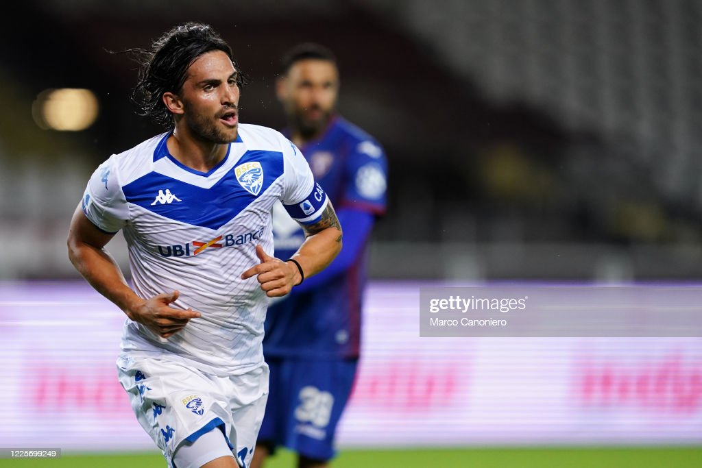 Ernesto Torregrossa Of Brescia Calcio Celebrate After Scoring A News Photo Getty Images