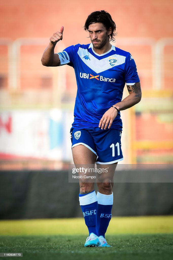 Ernesto Torregrossa Of Brescia Calcio Gestures During The Pre Season News Photo Getty Images