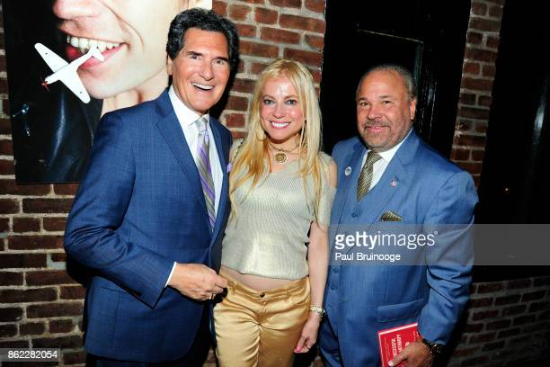 Ernie Anastos Anna Kulinova and Bo Dietl attend NY LIFESTYLES Magazine celebrates Cover Girl Jean Shafiroff and her work supporting the Next...