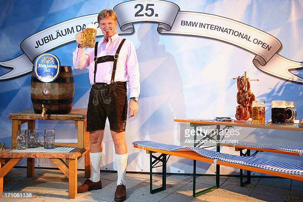 Ernie Els attends the BMW International Open 25th Anniversary Party at Rilano No6 Lenbach Palais on June 21 2013 in Munich Germany