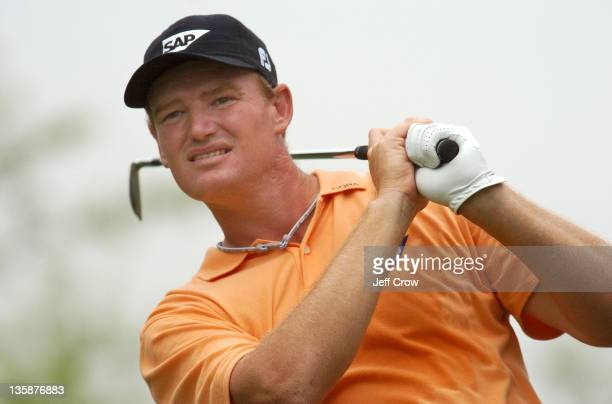 Ernie Els of South Africa during RD3 Els leads at 19 under par BMW Asian Open Tomson Golf Club Shanghai China RD3 April 30th 2005