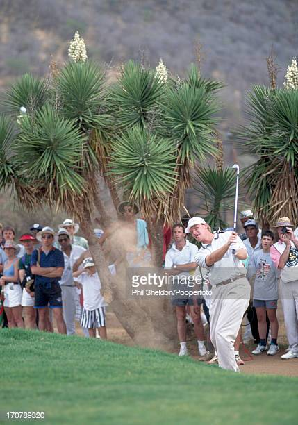 Ernie Els of South Africa in action during the One Million Dollar Challenge Golf Tournament held at the Sun City Golf Club in South Africa circa...