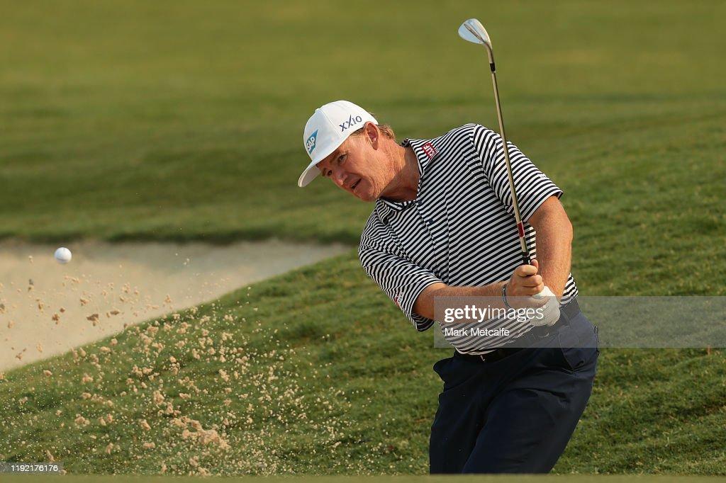 2019 Australian Open Golf: Day 2 : ニュース写真