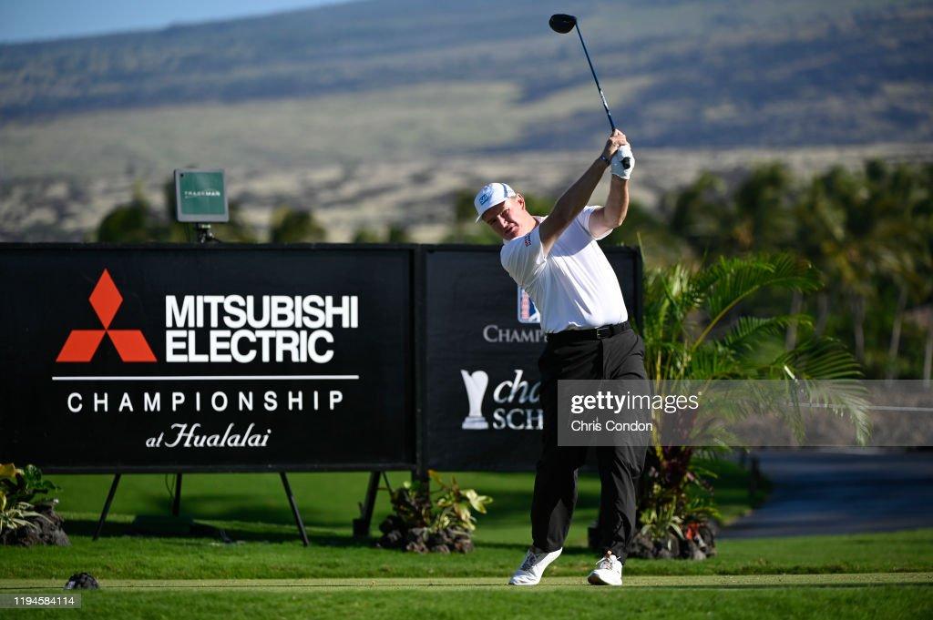 Mitsubishi Electric Championship at Hualalai - Final Round : News Photo