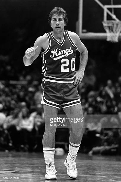 Ernie Grunfeld of the Kansas City Kings stands during a game circa 1981 at Kemper Arena in Kansas City Missouri NOTE TO USER User expressly...