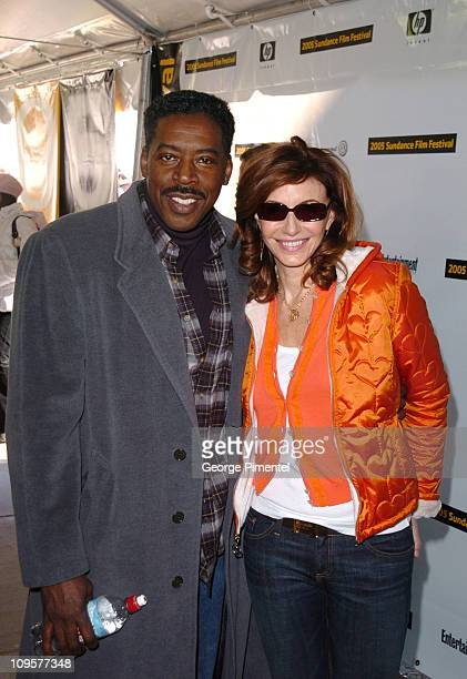 Ernie Hudson and Mary Steenburgen during 2005 Sundance Film Festival 'Marilyn Hotchkiss Ballroom Dancing and Charm School' Premiere at Eccles Theatre...